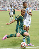 Aug 2, 2014 - MLS: Portland Timbers vs Los Angeles Galaxy - Juninho, Gaston Fernandez Photo by Jayne Kamin-Oncea
