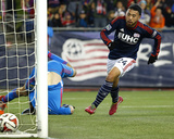 2014 MLS Playoffs: Nov 9, Columbus Crew vs New England Revolution - Steve Clark, Lee Nguyen Photo by Winslow Townson