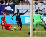 Jul 27, 2014 - MLS: FC Dallas vs Vancouver Whitecaps - Victor Ulloa, Raul Fernandez Photo by Anne-Marie Sorvin