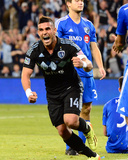 Apr 19, 2014 - MLS: Montreal Impact vs Sporting KC - Dom Dwyer Photo by Jasen Vinlove