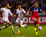 Oct 24, 2014 - MLS: Houston Dynamo vs Chicago Fire - Logan Pause Photo by Guy Rhodes