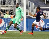 Sep 7, 2014 - MLS: Chicago Fire vs New England Revolution - Sean Johnson, Charlie Davies Photo by Stew Milne