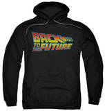 Hoodie: Back To The Future - Logo Pullover Hoodie