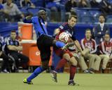 Apr 12, 2014 - MLS: Chicago Fire vs Montreal Impact - Harry Shipp, Hassoun Camara Foto af Eric Bolte