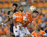 Aug 15, 2014 - MLS: Philadelphia Union vs Houston Dynamo - Pedro Ribeiro, Will Bruin Photo by John David Mercer