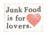 Junk Food is for Lovers Posters par  Junk Food