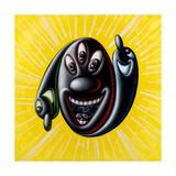 3 Nitty Impression giclée par Kenny Scharf