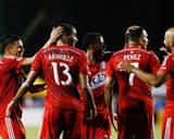 Aug 16, 2014 - MLS: FC Dallas vs San Jose Earthquakes - Tesho Akindele Photo by Kelley L Cox