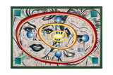Its There If You Stare 91 Gicleetryck av Kenny Scharf