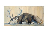 Stag, 2014 Giclee Print by Mark Adlington