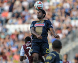 Jul 12, 2014 - MLS: Colorado Rapids vs Philadelphia Union - Sheanon Williams Photo by John Geliebter