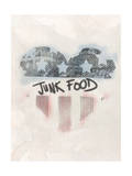 American Heart and American Stains Affiches par  Junk Food