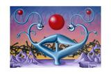 Fertility 83 Giclee Print by Kenny Scharf