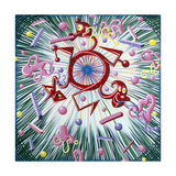 Major Blast Giclee Print by Kenny Scharf