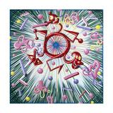 Major Blast Giclee Print by Kenny Scharf
