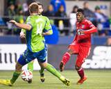 2014 MLS Playoffs: Nov 10, FC Dallas vs Seattle Sounders - Fabian Castillo Photo by Joe Nicholson