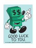 Jeremyville: Good Luck To You Prints by  Jeremyville