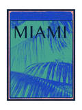 Miami Poster by  Junk Food