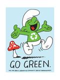 Jeremyville: Go Green Posters af Jeremyville