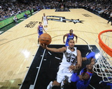 Philadelphia 76Ers v San Antonio Spurs Photo by D. Clarke Evans