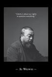 Portrait BW 2 Foto van Ai Weiwei