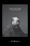 Portrait BW 2 Photo by Ai Weiwei