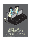 Jeremyville: Don't Let Electronics Come Between US Prints by  Jeremyville