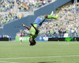 Apr 26, 2014 - MLS: Colorado Rapids vs Seattle Sounders - Obafemi Martins Photo af Steven Bisig