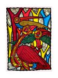 Bird Life Lámina giclée por Muktair Oladoja