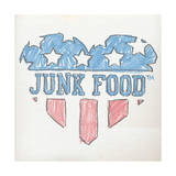 Colored Pencil Heart Prints by  Junk Food