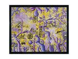 Junkle Gicléetryck av Kenny Scharf