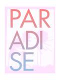 Paradise Print by  Junk Food