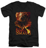 The Hobbit: The Battle of the Five Armies - Smolder V-Neck T-shirts