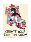 Jeremyville: Create Your Own Tomorrow Prints by  Jeremyville