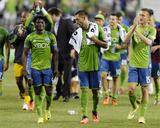 Jul 13, 2014 - MLS: Portland Timbers vs Seattle Sounders - Obafemi Martins, Dylan Remick Photo by Steven Bisig