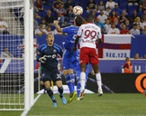Aug 23, 2014 - MLS: Montreal Impact vs NY Red Bulls - Bradley Wright-Phillips, Wandrille Lefevre Photo by Jim O'Connor