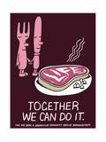 Jeremyville: Together We Can Do It Affiches par  Jeremyville