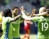 May 31, 2014 - MLS: Real Salt Lake vs Seattle Sounders - Obafemi Martins Photo by Joe Nicholson