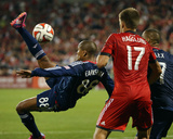 Aug 23, 2014 - MLS: Chicago Fire vs Toronto FC - Robert Earnshaw Photo by Tom Szczerbowski