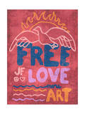 Free Love - More Art Poster by  Junk Food