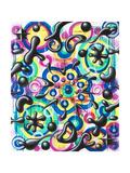 Energala Giclee Print by Kenny Scharf