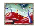 ZEREYEZI Impression giclée par Kenny Scharf
