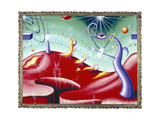 Zereyezi 97 Gicleetryck av Kenny Scharf