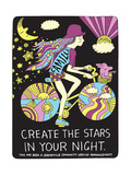 Jeremyville: Create The Stars In Your Night Posters by  Jeremyville