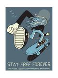 Jeremyville: Stay Free Forever Prints by  Jeremyville