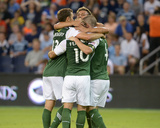 2014 MLS U.S. Open Cup: Jun 24, Portland Timbers vs Sporting KC - Will Johnson Photo af Denny Medley