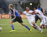 Jul 11, 2014 - MLS: D.C. United vs San Jose Earthquakes - Steven Lenhart, Perry Kitchen Photo by Kyle Terada