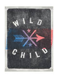WILD CHILD Arrow Design Prints by  Junk Food