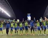 2014 MLS Playoffs: Nov 10, FC Dallas vs Seattle Sounders Fotografía por Steven Bisig