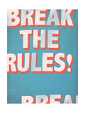 Break the Rules! Affiches par  Junk Food